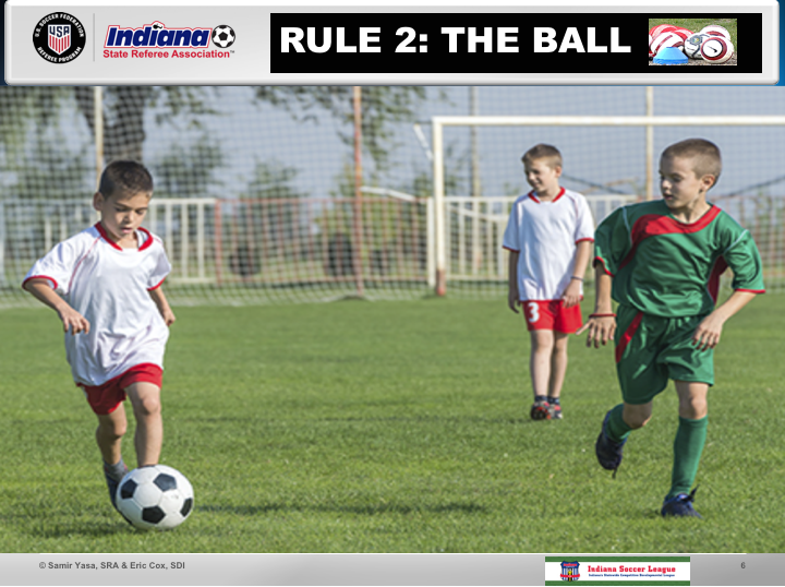 Rule 2 The Ball