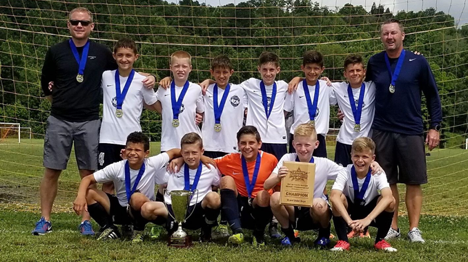 North Union U12 Boys Region I P Cup Champions