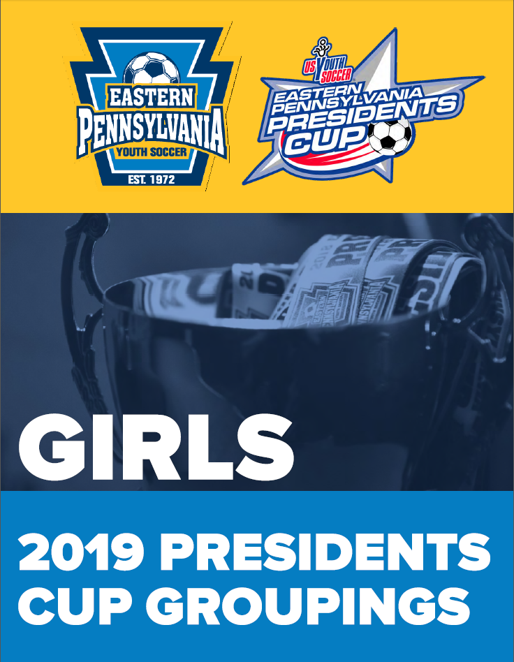 Presidents Cup Girls Groupings 2019