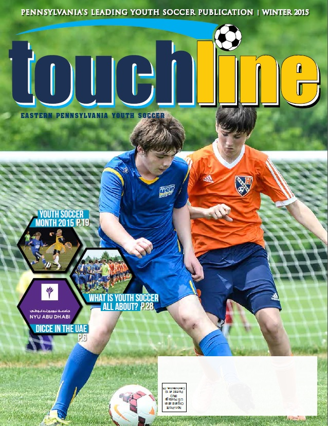 touchline cover shot winter