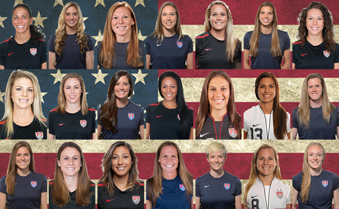 United states roster for 2015 fifa womens world cup full of us united states roster for 2015 fifa womens world cup full of us youth soccer alums publicscrutiny Image collections